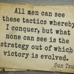 Tactic or strategy... growth or stagnation... even descent... choose!