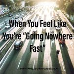 Everything that is valuable is invisible when things are fast. Updated...