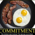 Commitment comes from the soul. What are you committed to?